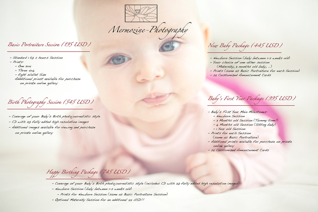 Mermozine-Photography Portraiture Pricing
